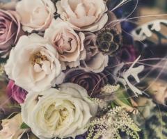 blommor i festlokal